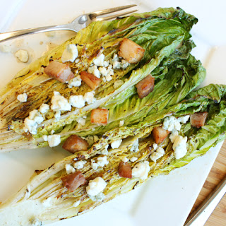 Grilled Romaine Hearts.