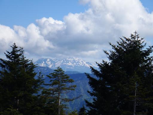 乗鞍岳の雲もあと少し