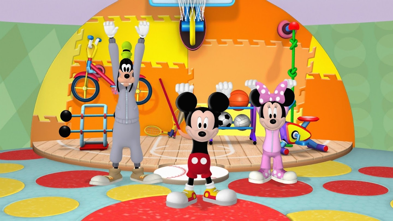 Mickey's Mousekercize Shorts