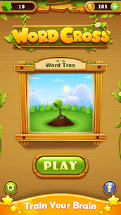 Word Cross Puzzle: Best Free Offline Word Games 2