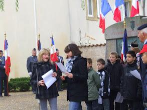 Photo: Commémoration du 11 novembre