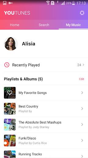 Free Music-YouTunes 1.0.4719 screenshots 4