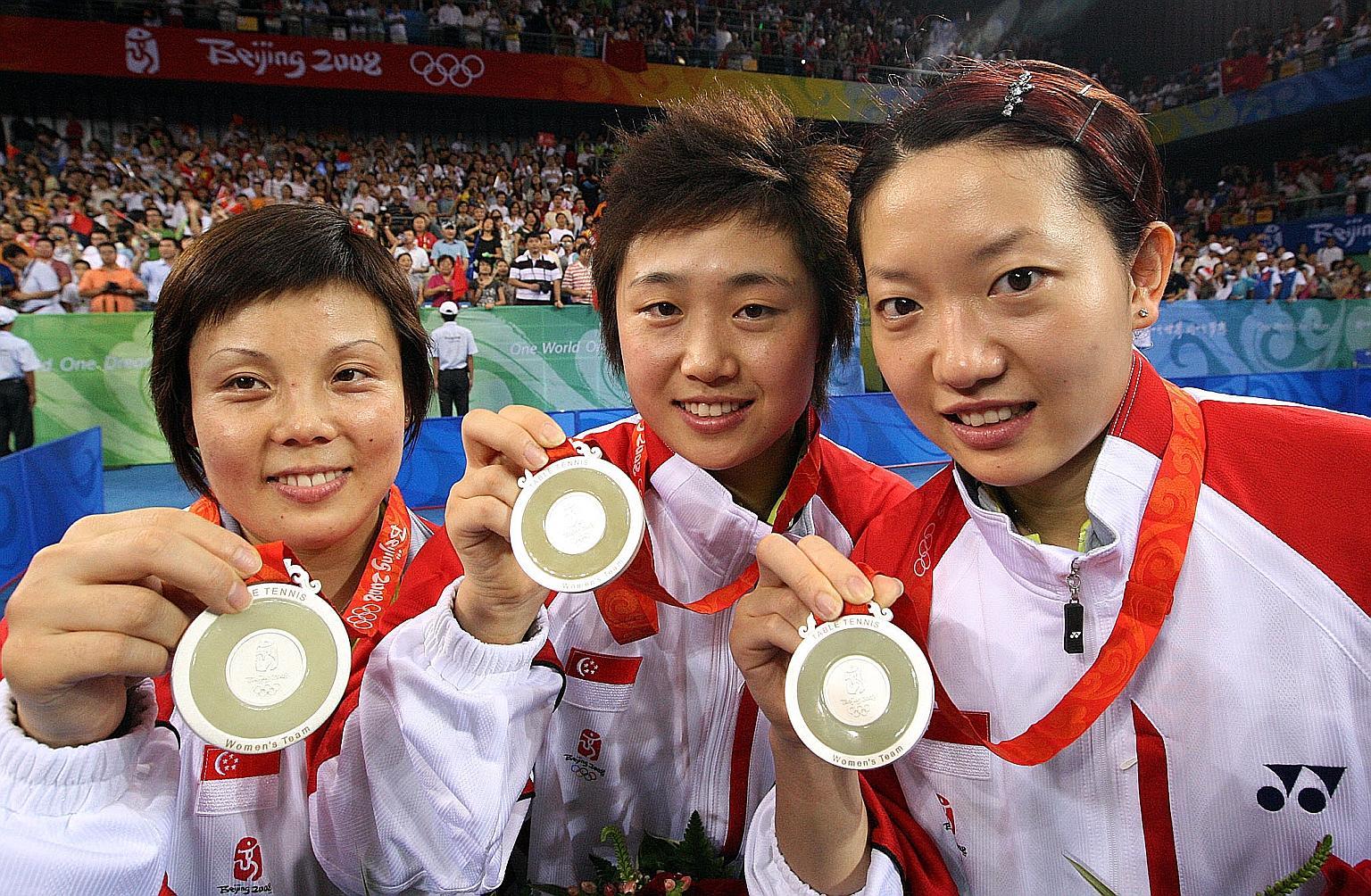 Sự cạnh tranh khốc liệt trong thế giới bóng bàn Trung Quốc cũng đã tạo nên một sức mạnh của các tay vợt