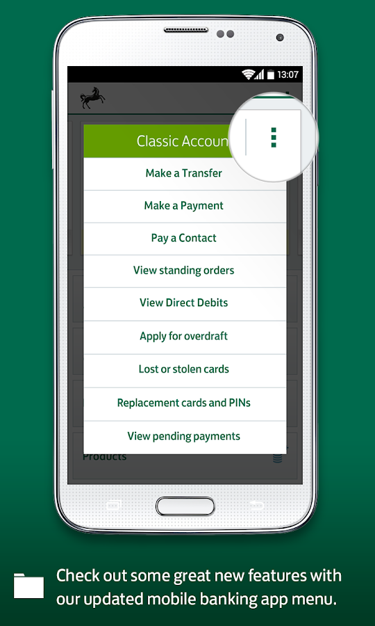 Lloyds Bank Mobile Banking- screenshot
