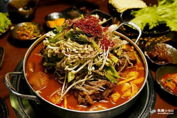 韓金館- 道地馬鈴薯排骨湯/韓式燒肉