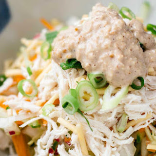 Asian Chicken Salad with Sesame Dressing