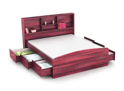 Wooden Bed Designs - náhled