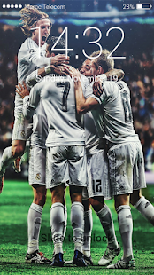 Pin Lock screen For Real Madrid - náhled