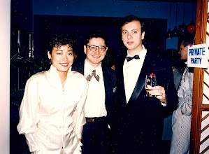 Photo: With Roland & Annie Marcz - Carlton Hotel 1986