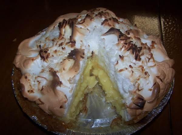Double-coconut Cream Pie Recipe