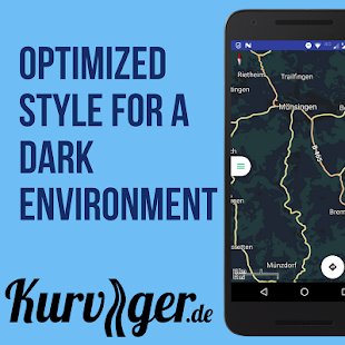 Kurviger Pro - Motorcycle Navi- screenshot thumbnail