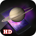 3D Realistic Saturn LWP HD icon
