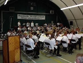 Photo: Het koninklijk Muziekverbond Oost-Vlaanderen organiseert elk jaar een muziekweekend voor muziekverenigingen uit Oost-Vlaanderen.