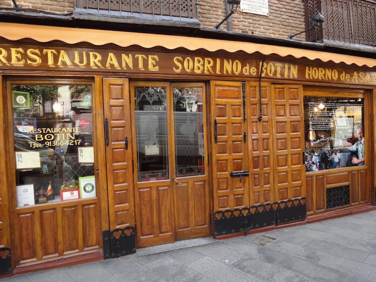 Restaurant Botin à Madrid