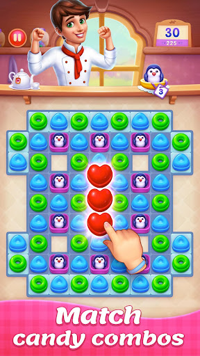 Candy Sweet Legend - Match 3 Puzzle 3.3.5009 screenshots 22