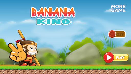 Banana King Monkey Run
