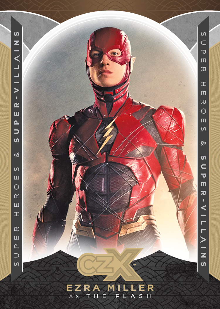 CZX Super Heroes & Super-Villains Promo Card P5