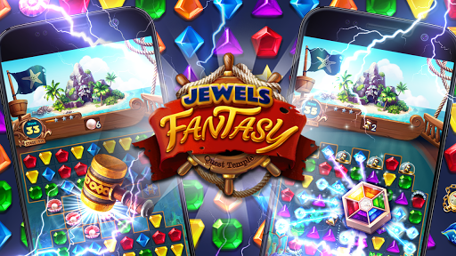 Jewels Fantasy : Quest Temple Match 3 Puzzle 1.6.7 screenshots 2