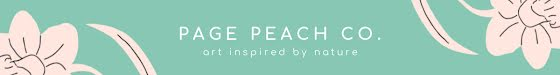 Page Peach Co. - Etsy Shop Mini Banner Template