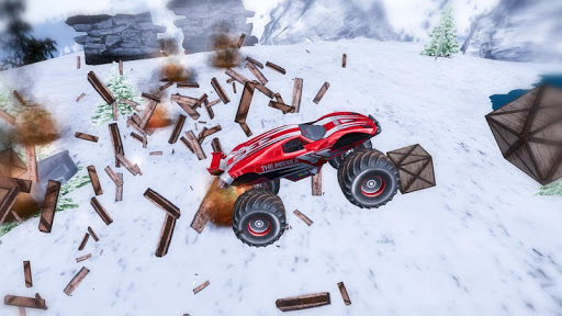 Off Road Monster Truck Driving - screenshot