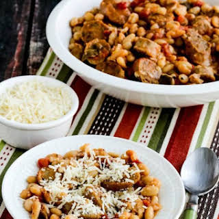 Italian Sausage and White Beans with Sage (Instant Pot or Slow Cooker).