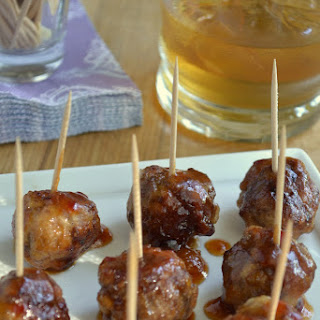 Bourbon Cocktail Meatballs.