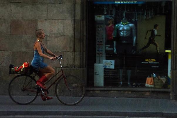 Bellezza in bicicletta di Pablophoto
