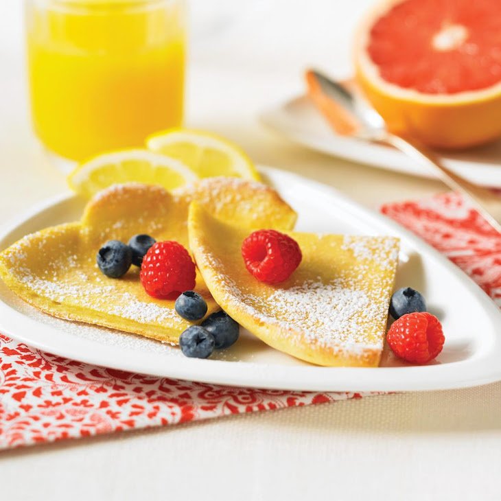 Orange Scented Dutch Babies with Fresh Berries
