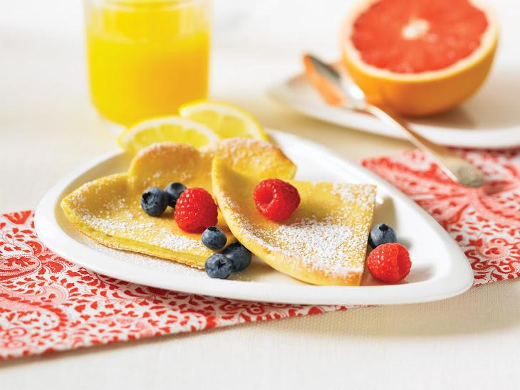 Orange Scented Dutch Babies with Fresh Berries Recipe