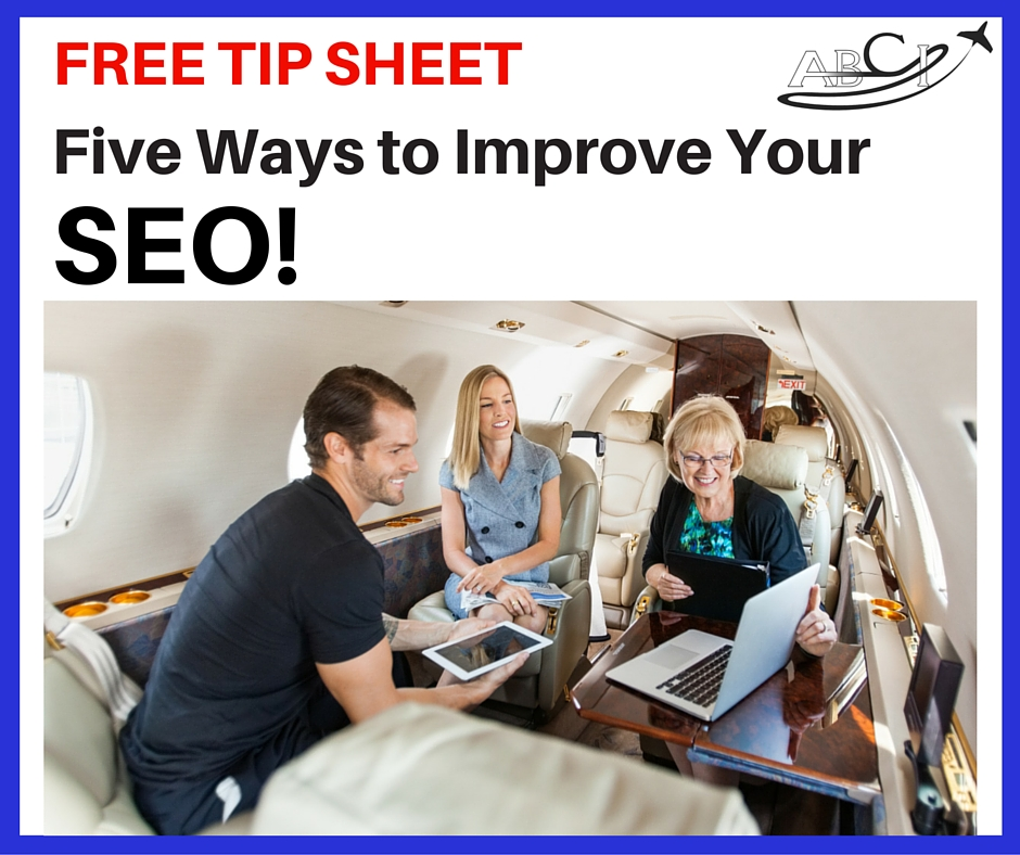 Click here to get the Aviation SEO Tip Sheet
