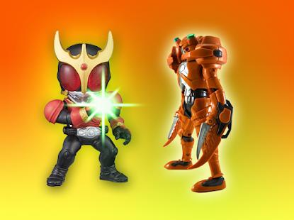 Hero Kaman Rider Battle Games - náhled