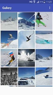 New HD Snow Boarding Wallpapers - náhled