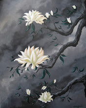 Photo: Blossom Trio 16x20 Acrylic on Canvas