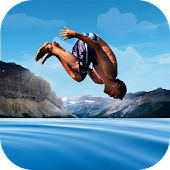 Flip Swim Diving Cliff Jumping