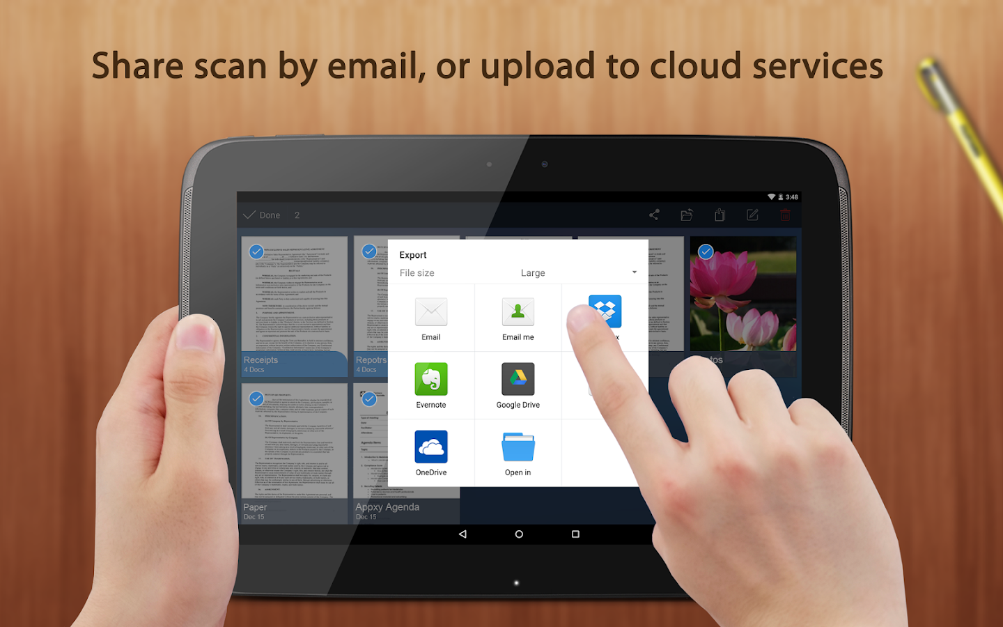 Tiny Scan:PDF Document Scanner - screenshot