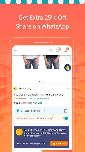 ShopClues: Online Shopping App 3.6.3 screenshots 3