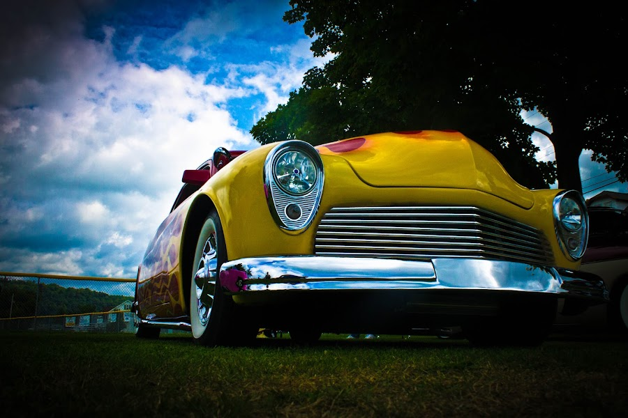 hot roddin by Steve Roberts - Transportation Automobiles ( cars, transportation, hot rods, classic, mobile )