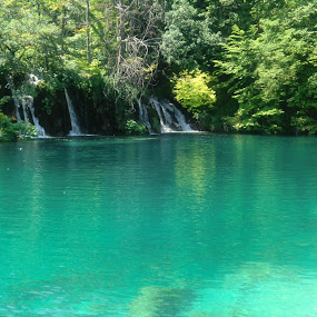 Plitvice National Park by Catarina Cardoso - Landscapes Waterscapes