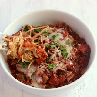 Single-Serving College Girl Pasta Bowl