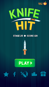 Knife Hit MOD APK 1.8.10 [Unlimited Money + Unlocked] 4