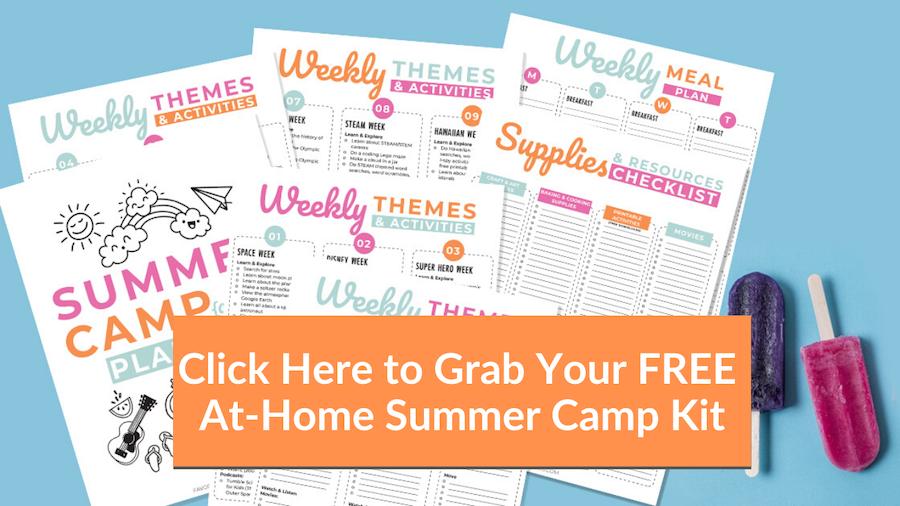 Free summer camp planner