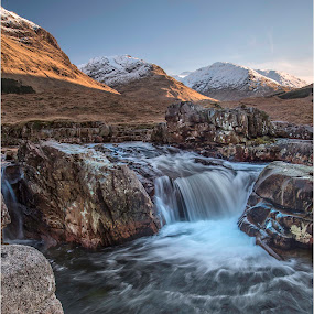 Scotland Glencoe by Ita Martin - Landscapes Mountains & Hills ( water sunrise mountain mist, scotland 2016,  )
