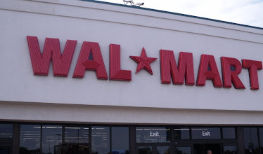 Photo: My hubby and I headed to Walmart to check out purchasing some items for our Simple Service project as well as picking up some items for the hot weekend.