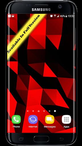 Parallax  Golden Crystal Edge 3D Live Wallpaper 1.0.1 screenshots 2