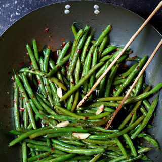 Thai Sweet Chili Green Beans.