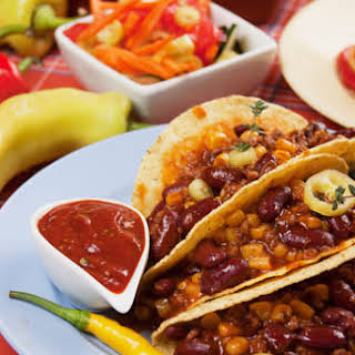 Sweet Potato and Black Bean Taco Recipe (Gluten Free, Dairy Free, Vegan).