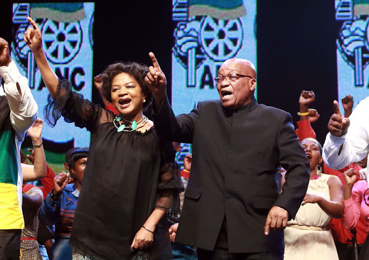 National Assembly Speaker Baleka Mbete and President Jacob Zuma. Picture: RAJESH JANTILAL
