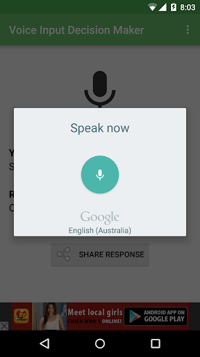玩娛樂App|Voice Input Decision Maker免費|APP試玩
