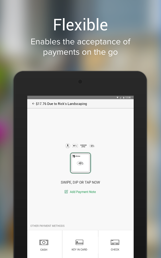 CloverGo-BofA MerchantServices- screenshot