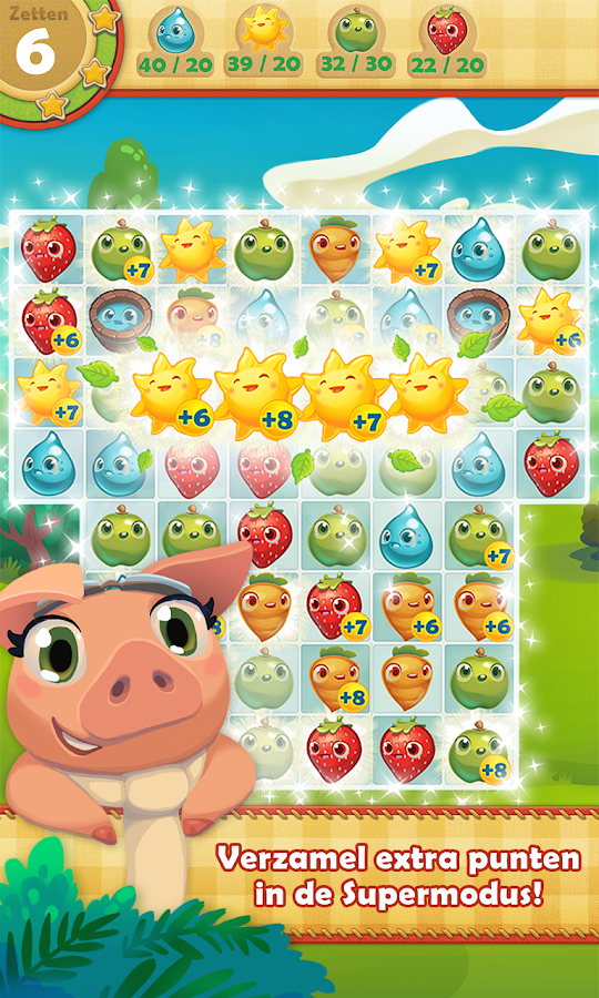 Farm Heroes Saga: screenshot